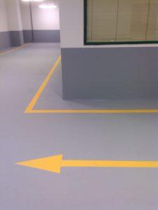 Резиновое покрытие для паркинга от Мастерфайбр 1